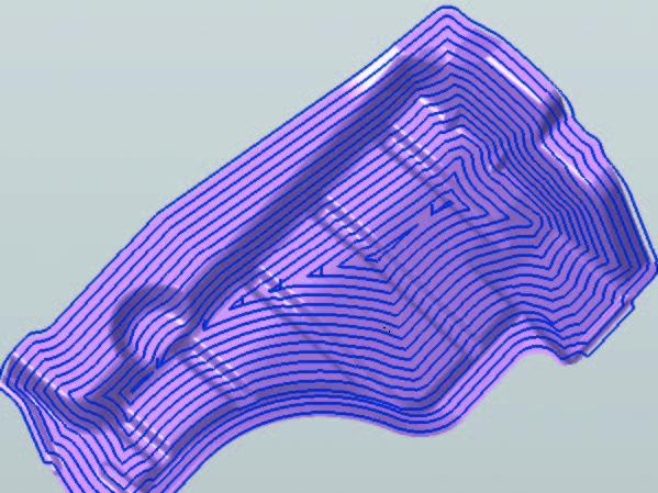 3D複合曲面加工