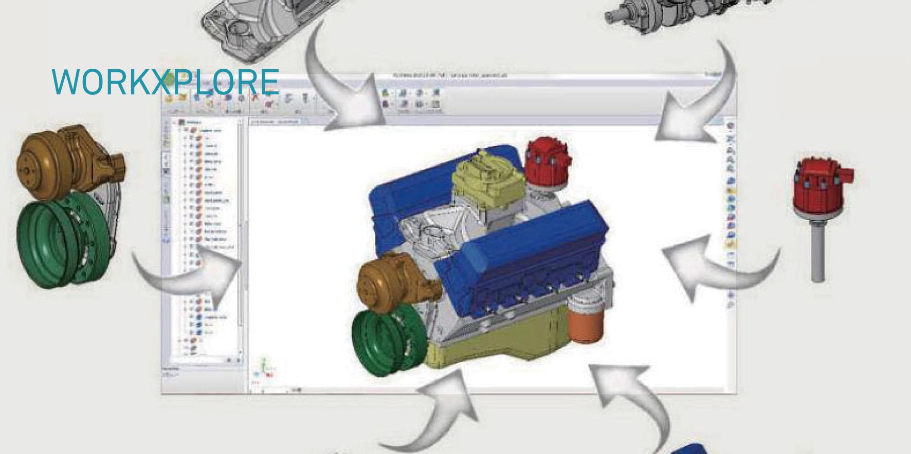 加工現場の3D情報可視化へ エンジニアリング向けクライアント3Dビューア