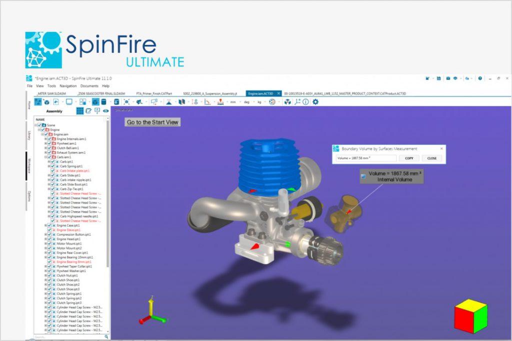 3Dパブリッシュ&CADビューワ<br>「SpinFire」