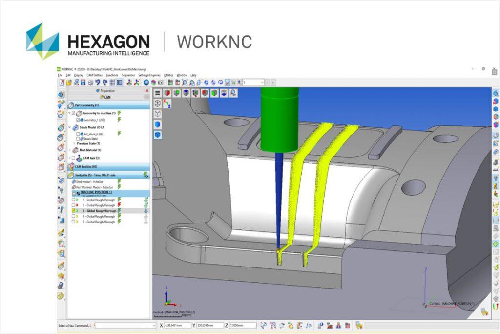 オートマチック3D-CAMモジュール<br>「WORKNC」