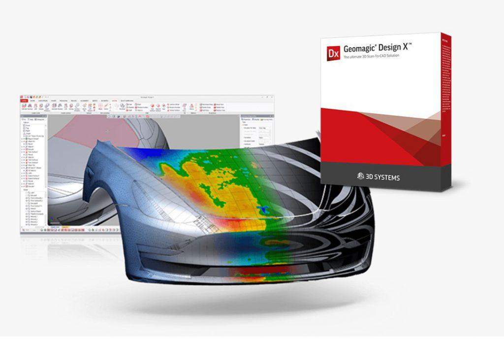 ソリッド対応三次元リバースモデラ<br>「Goemagic DesignX」