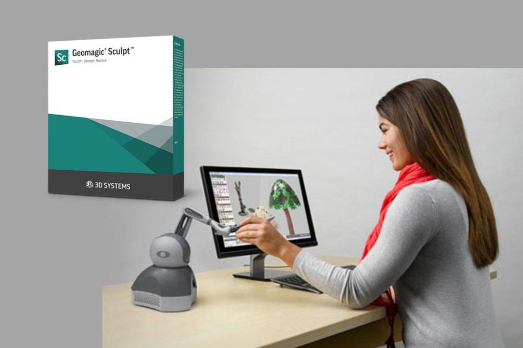 ペン型デバイス対応デジタルクレイモデラ<br>「Geomagic Sculpt」